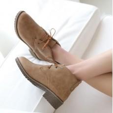 รองเท้าหนังแฟชั่น มีไซส์ใหญ่แนวแคชชวลใส่ได้ทั้งชายหญิง นำเข้าไซส์33ถึง43 สีน้ำตาล - พรีออเดอร์RB2350 ราคา1750บาท
