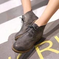 รองเท้าหนังแฟชั่น มีไซส์ใหญ่แนวแคชชวลใส่ได้ทั้งชายหญิง นำเข้าไซส์33ถึง43 สีเทา - พรีออเดอร์RB2350 ราคา1750บาท