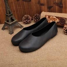 รองเท้าหนังแท้เพื่อสุขภาพ แฟชั่นเกาหลีส้นแบนหัวมนสวมสบาย นำเข้า ไซส์35ถึง40 สีดำ - พรีออเดอร์RB2355 ราคา2850บาท