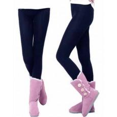 เลกกิ้งกันหนาว ลองจอนขายาวผู้หญิงผสมผ้าวูลใส่เพิ่มความอบอุ่นแฟชั่นเกาหลี นำเข้า สีน้ำเงิน - พร้อมส่งTJ7493 ราคา250บาท