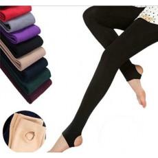 เลกกิ้งกันหนาว ลองจอนขายาวผู้หญิงผสมผ้าวูลใส่เพิ่มความอบอุ่นแฟชั่นเกาหลี นำเข้า สีดำ - พร้อมส่งTJ7717 ราคา590บาท