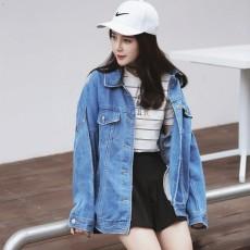 เสื้อแจ็คเก็ตยีนส์ ผู้หญิงแฟชั่นเกาหลีแขนยาวเอวตรงทรงหลวมเทรนด์ใหม่ ฟรีไซส์ สียีนส์ฟอก - พร้อมส่งTJ7731 ราคา990บาท