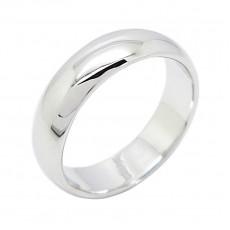 แหวนเกลี้ยงชุบทองคำขาวสำหรับสวมนิ้วก้อยใส่ได้ทั้งชายหญิง นำเข้า ไซส์5 - พร้อมส่งBE0048 ลดราคา150บาท