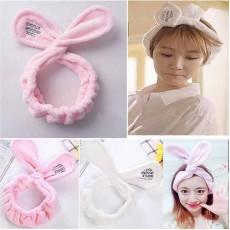 ที่คาดผมหูกระต่ายขนนุ่มแฟชั่นเกาหลีผ้ายืดสำหรับแต่งหน้าทำสปาพอกหน้า นำเข้า สีขาว - พร้อมส่งBH0049 ราคา139บาท