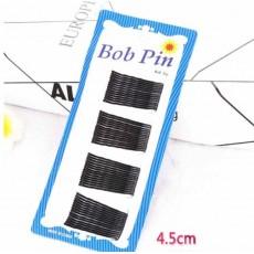 กิ๊บติดผมสีดำแบบหยัก60ตัว Black Hair Bobby Pin แฟชั่นเกาหลี นำเข้า - พร้อมส่งBH0075 ราคา110บาท