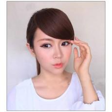 วิกผมหน้าม้าปัด แบบคลิป2ตัวแฟชั่นเกาหลีสวยทันใจ นำเข้า สีน้ำตาลทอง - พร้อมส่งW071 ลดราคา229บาท