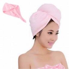 หมวกคลุมผม แฟชั่นผมแห้งเร็วใช้ขณะแต่งหน้า Microfibre Bath Hair Towel นำเข้า - พร้อมส่งW390 ราคา190บาท
