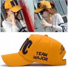 หมวกแก๊ปแฟชั่นเกาหลี ชายหญิงอินเทรนด์สไตล์กีฬา NYC New York City Hat นำเข้า สีเหลือง - พร้อมส่งW392 ราคา590บาท
