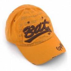 หมวกแก๊ปแฟชั่นเกาหลี ชายหญิงอินเทรนด์ปักลายเทรนด์สไตล์กีฬา BAT Hat นำเข้า สีเหลือง - พร้อมส่งW393 ราคา590บาท