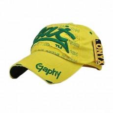 หมวกแก๊ปแฟชั่นเกาหลี ชายหญิงอินเทรนด์อินเทรนด์เท่สไตล์กีฬา BAT Hat นำเข้า สีเหลือง - พร้อมส่งW393 ราคา590บาท