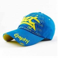 หมวกแก๊ปแฟชั่นเกาหลี ชายหญิงอินเทรนด์ปักลายเทรนด์สไตล์กีฬา BAT Hat นำเข้า สีฟ้า - พร้อมส่งW393 ราคา590บาท