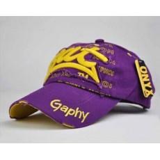หมวกแก๊ปแฟชั่นเกาหลี ชายหญิงอินเทรนด์ปักลายเทรนด์สไตล์กีฬา BAT Hat นำเข้า สีม่วง - พร้อมส่งW393 ราคา590บาท
