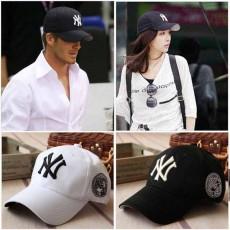 หมวกแก๊ปแฟชั่นเกาหลี ชายหญิงอินเทรนด์ปักเทรนด์สไตล์กีฬา NY New York Hat นำเข้า สีขาว - พร้อมส่งW597 ราคา590บาท