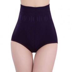 กางเกงในยกสะโพก เก็บหน้าท้องเอวสูงดีไซน์โอบกระชับสรีระให้คุณมั่นใจ สีม่วง ฟรีไซส์ - พร้อมส่งW616 ราคา395บาท