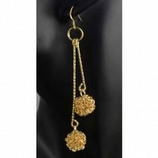 ต่างหูระย้า แฟชั่นเกาหลีแต่งลูกตุ้มตุ้งติ้งสวยหรู 18K Drop Dangle Earrings นำเข้า สีทอง - พร้อมส่งW648 ลดราคา99บาท