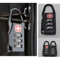 กุญแจล็อคกระเป๋าเดินทางแบบตั้งรหัสผ่าน Swiss Symbol Bag Safe Lock นำเข้า - พร้อมส่งW833 ลดราคา199บาท