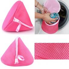 ถุงตาข่ายใส่ชุดชั้นใน กางเกงใน สำหรับใส่เครื่องซักผ้าถนอมผ้า นำเข้า สีชมพู - พร้อมส่งW848 ราคา79บาท