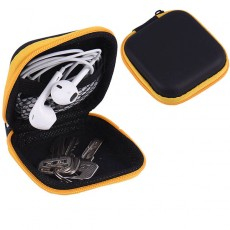 กระเป๋าใส่เหรียญใบเล็ก กล่องใส่หูฟังแฟชั่นเกาหลีทรงแข็งกันกระแทก Earphone Box นำเข้า - พร้อมส่งW876 ราคา89บาท