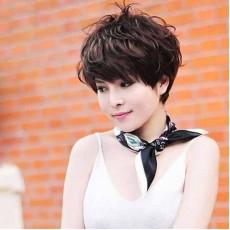 วิกผมสั้นสไตล์เกาหลีหน้าม้าซอยไล่ระดับมีวอลุ่มสวยทั้งผู้ใหญ่และวัยรุ่น นำเข้า สีน้ำตาลธรรมชาติ - พร้อมส่งBE0042 ราคา800บาท