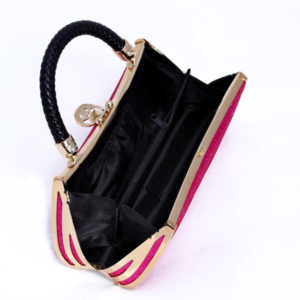 กระเป๋าออกงาน แฟชั่นเกาหลีหรูหราเข้าชุดราตรีสีสวย