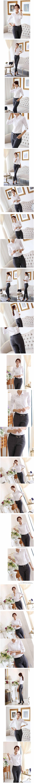 เสื้อเชิ้ต แฟชั่นเกาหลีใส่ทำงานเรียบร้อย นำเข้า ไซส์Sถึง2XL สีขาว