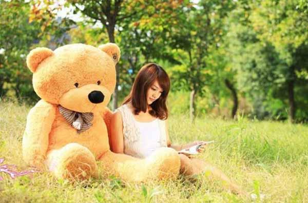 ตุ๊กตาหมี2เมตร ตัวใหญ่ ของขวัญพิเศษหรือใช้ในงานแต่งงาน สีน้ำตาล - พร้อมส่ง028 ราคา2500บาท