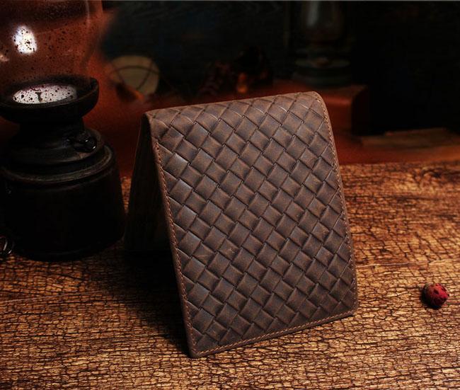 กระเป๋าสตางค์หนังสาน สไตล์เรโทร แนว สวยมาก หนังแท้ 100 เปอร์เซ็น - พรีออเดอร์F045 ราคา2500บาท