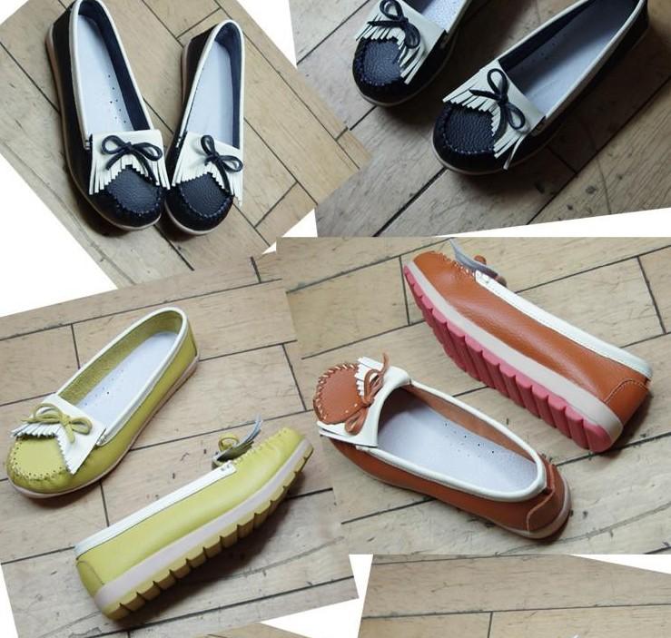 รองเท้าส้นเตี้ย แฟชั่นเกาหลี สวยเทรนใหม่แต่งริ้วใส่สบายมาก นำเข้า พรีออเดอร์HS158-1 ราคา1175บาท