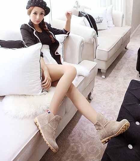 รองเท้าผ้าใบ Sneakers หุ้มข้อแฟชั่นเกาหลี