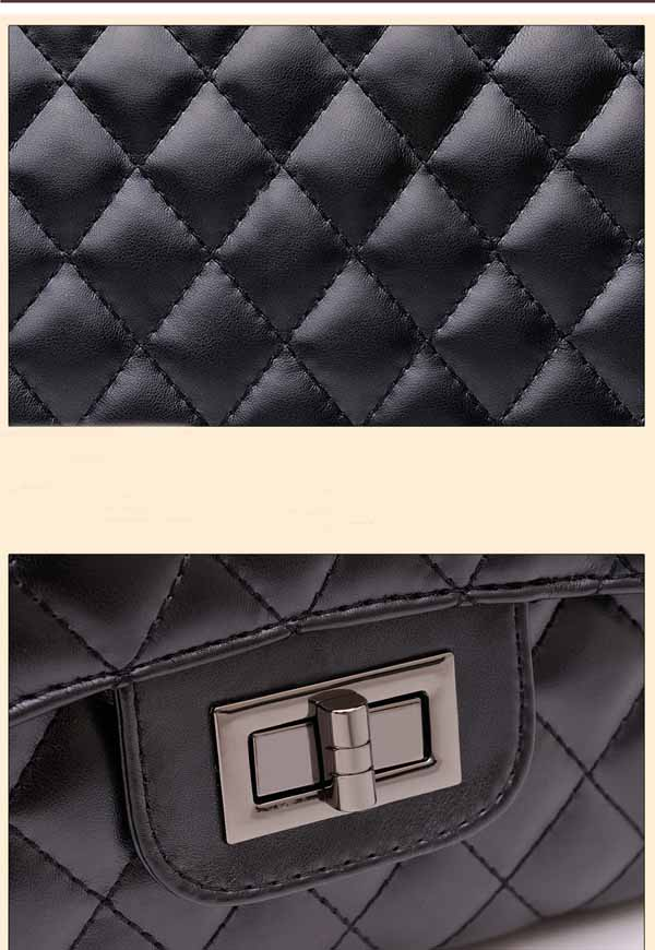กระเป๋าสะพายสายโซ่ แฟชั่นเกาหลีหรูหราถือทำงานสวยสไตล์แบรนด์ นำเข้า สีดำ - พร้อมส่งBBB1920 ราคา1200บาท