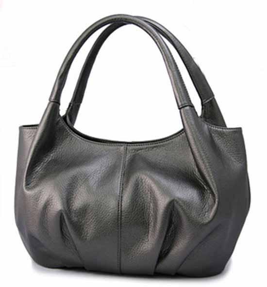 กระเป๋าแฟชั่นเกาหลี รุ่นใหม่สวยเบาน่ารักมาก นำเข้า สีเทา - พร้อมส่ง