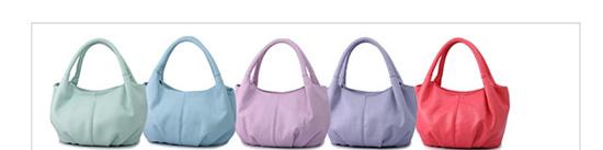 กระเป๋าสะพายข้างผู้หญิง สีม่วงอ่อน - พร้อมส่ง