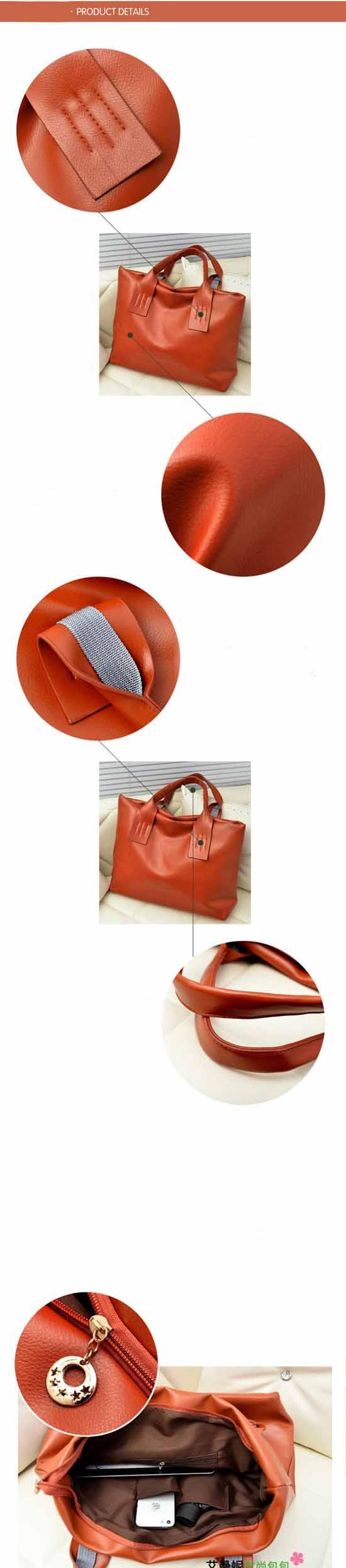 กระเป๋า สวยแนววินเทจใบใหญ่ นำเข้า พร้อมส่ง