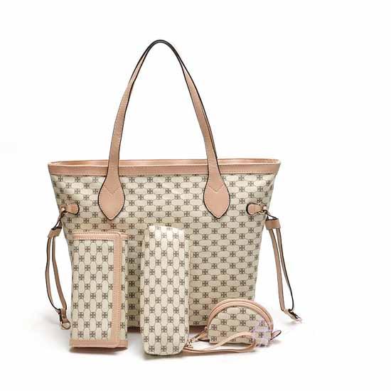 กระเป๋าแฟชั่นเกาหลี สวยหรูสไตล์แบรนด์ทั้งเซท4ชิ้นใหม่ล่าสุด นำเข้า - พร้อมส่ง