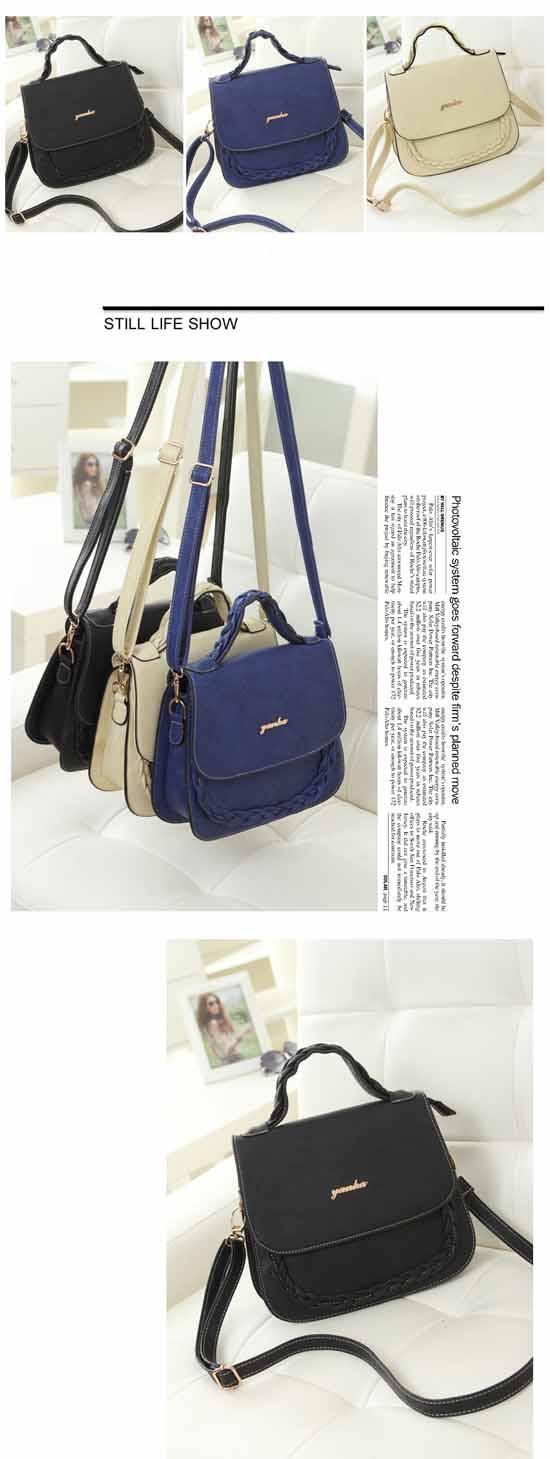 กระเป๋าสะพาย แฟชั่นเกาหลีสวยใหม่ใช้ได้หลายโอกาส นำเข้า พรีออเดอร์IS979