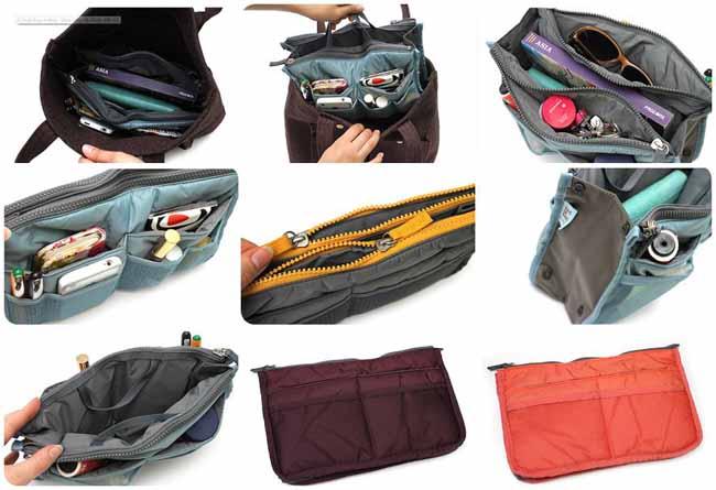 กระเป๋าจัดระเบียบช่องเยอะนำเข้าพร้อมส่ง