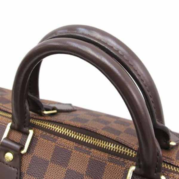 กระเป๋าหลุยส์วิตตอง LOUIS VUITTON DAMIER EBENE CANVAS SPEEDY 35 Used Like New มือสองของแท้ - พร้อมส่ง ราคา23000บาท