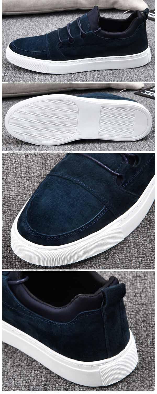 รองเท้าผู้ชาย หนังกลับแฟชั่นเกาหลีสวมลำลองSNEAKERเทรนด์ใหม่ นำเข้า ไซส์39ถึง43 - พรีออเดอร์MA5610 ราคา2500บาท