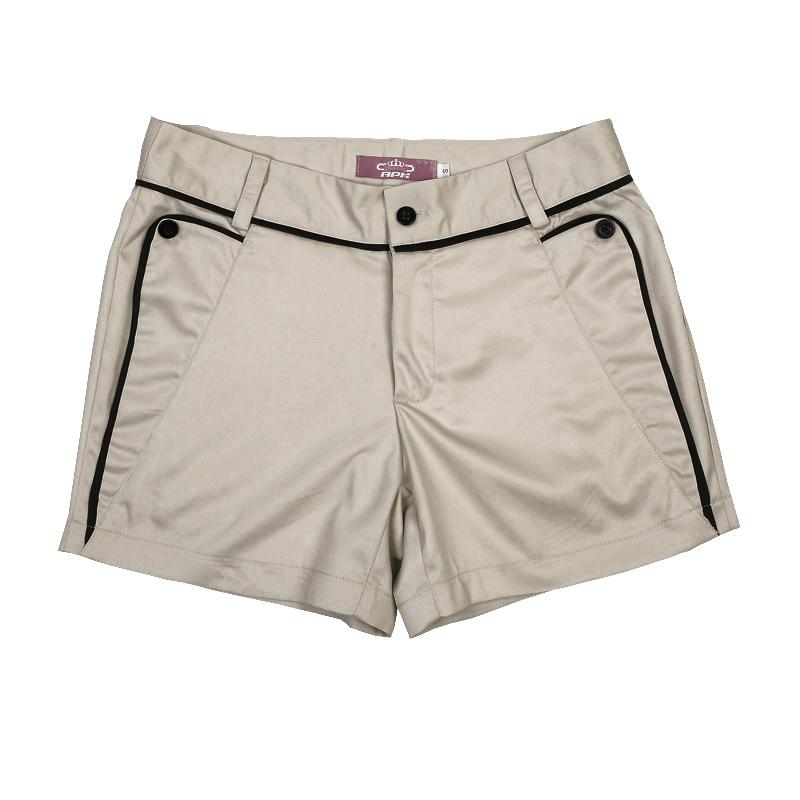กางเกง ขาสั้น แฟชั่นเกาหลี แนวหรูหราผ้าดีมาก นำเข้า ไซส์S/M/L/XL สีกากี - พรีออเดอร์MI550 ราคา995บาท