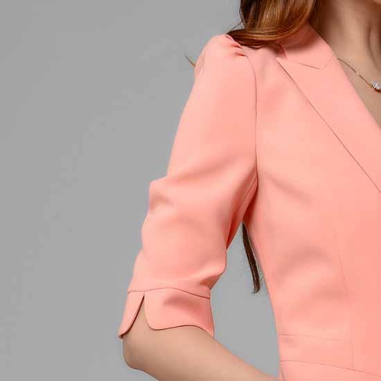 เสื้อสูท แฟชั่นเกาหลีผู้หญิงแขนสั้นสวย นำเข้าไซส์Sถึง3XL
