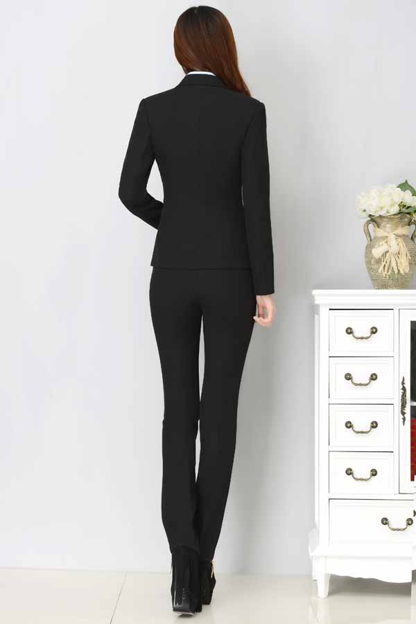 เสื้อสูทผู้หญิง แฟชั่นเกาหลีแขนยาวพนักงานออฟฟิศหญิงเรียบหรู นำเข้าไซส์Sถึง3XL สีดำ - พรีออเดอร์MS4246 ราคา1600บาท