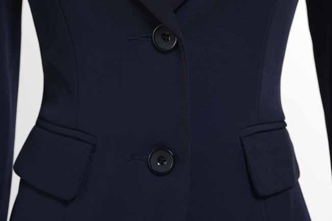 เสื้อสูทผู้หญิง แฟชั่นเกาหลีแขนยาวพนักงานออฟฟิศหญิงเรียบหรู นำเข้าไซส์Sถึง3XL สีน้ำเงิน - พรีออเดอร์MS4246 ราคา1600บาท