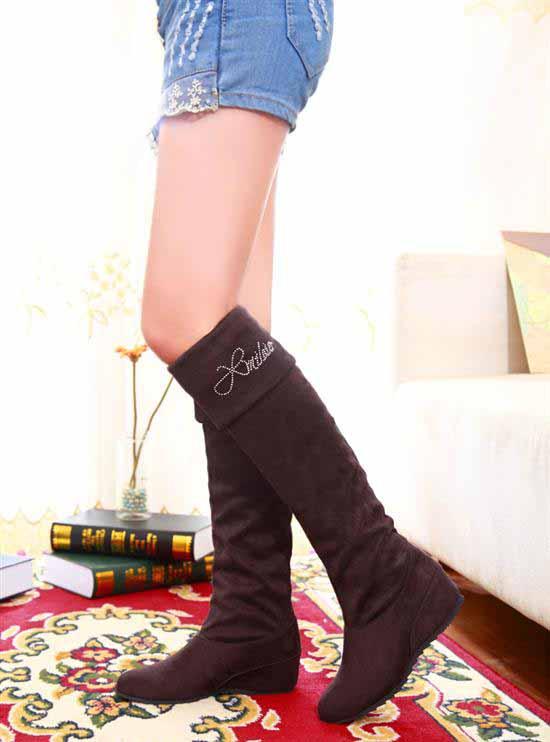 รองเท้าบูท แฟชั่นเกาหลีสวมใส่สบาย นำเข้า ไซส์34ถึง43