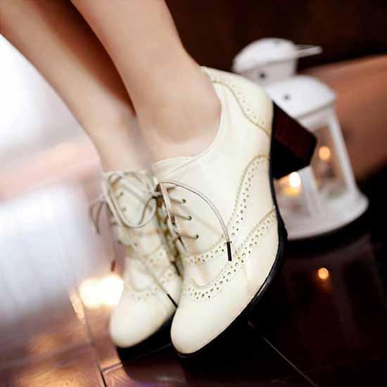 รองเท้าผ้าใบ แฟชั่นเกาหลีคัทชูหนังสวย นำเข้า ไซส์34ถึง43