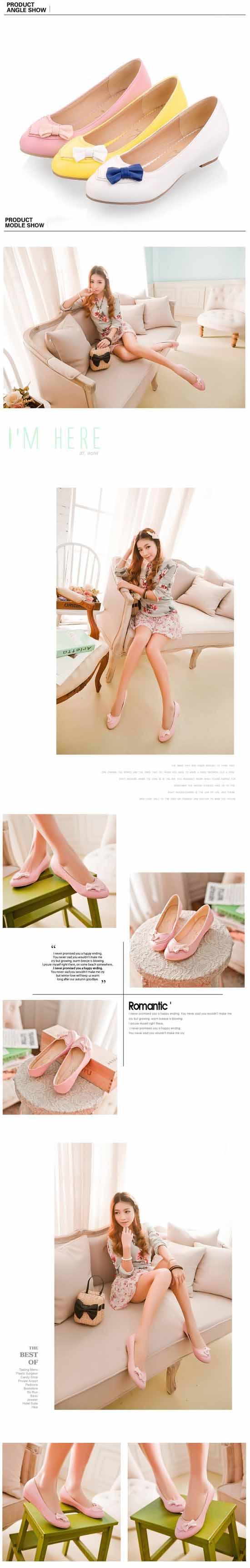 รองเท้าส้นเตี้ย แฟชั่นเกาหลีสวมใส่เดินสบาย นำเข้า ไซส์34ถึง43