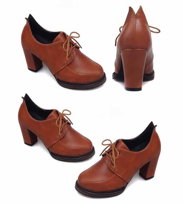 รองเท้าส้นสูง วินเทจผู้หญิงแฟชั่นเกาหลีสไตล์ใหม่เหมาะกับเทรนด์ นำเข้า ไซส์34ถึง43 - พรีออเดอร์RB2273 ราคา1550บาท