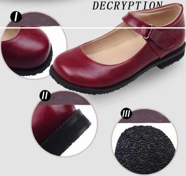 รองเท้าส้นเตี้ย เพื่อสุขภาพเท้าที่ดีแฟชั่นเกาหลีคัทชูหนังใหม่ นำเข้าไซส์33ถึง43 - พรีออเดอร์RB2330 ราคา1800บาท