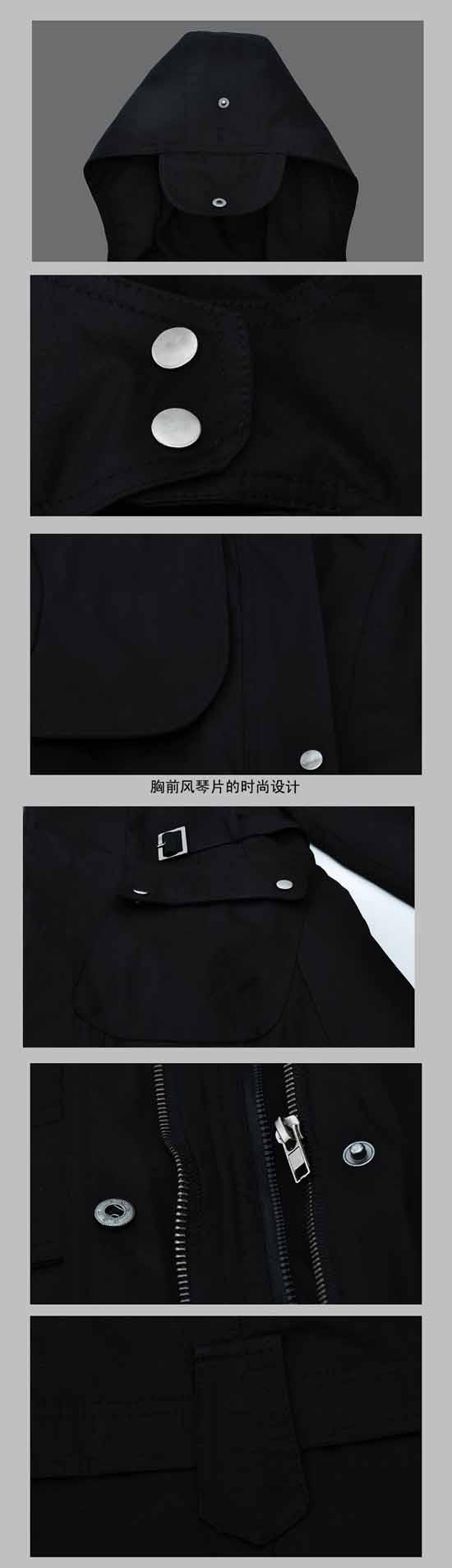 เสื้อโค้ท แฟชั่นเกาหลีกันหนาวตัวยาวมีฮู้ดแต่งเฟอร์สวยหรู นำเข้า ไซส์S-XXXL พรีออเดอร์SJ1325 ราคา2100บาท