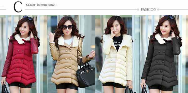 เสื้อโค้ทกันหนาว ดีไซน์แจ็คเก็ตกันลมแฟชั่นเกาหลี นำเข้าไซส์Mถึง3XL - พรีออเดอร์SJ1384 ราคา2790บาท