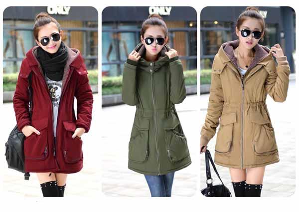 เสื้อโค้ทกันหนาว ดีไซน์แจ็คเก็ตมีฮู้ดตัวยาวแฟชั่นเกาหลี นำเข้าไซส์Mถึง3XL - พรีออเดอร์SJ1385 ราคา2790บาท